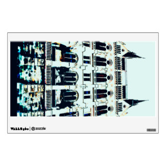 Hungarian Parliament painting Wall Sticker