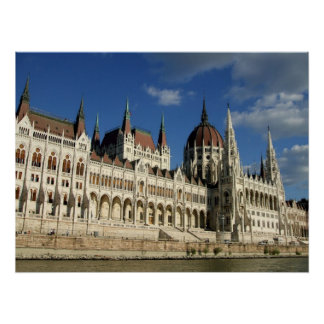 Hungarian Parliament Poster