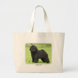 Hungarian Puli 9R070D-86 Large Tote Bag