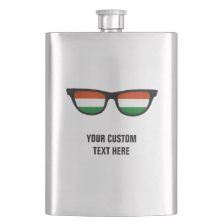 Hungarian Shades custom flask