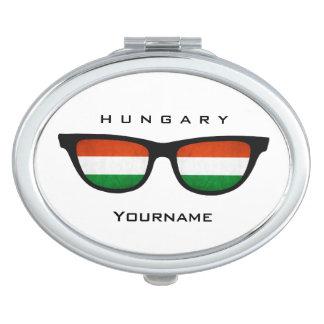 Hungarian Shades custom pocket mirror Makeup Mirrors
