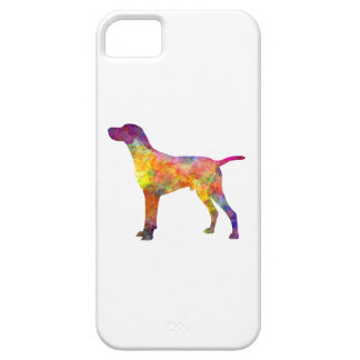 Hungarian Shorthaired Pointer in watercolor iPhone 5 Cover