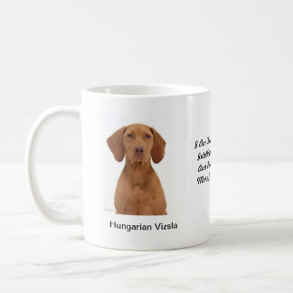 Hungarian Vizsla Mug - With two images and a motif