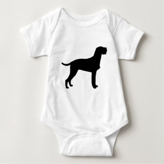 Hungarian Wire-Haired Vizsla Baby Bodysuit