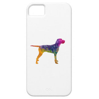 Hungarian Wirehaired Vizsla in watercolor iPhone 5 Covers