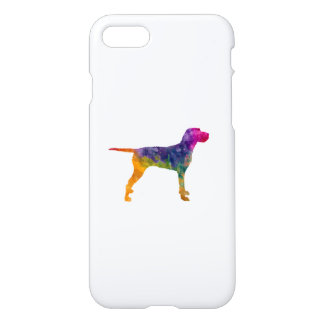 Hungarian Wirehaired Vizsla in watercolor iPhone 7 Case