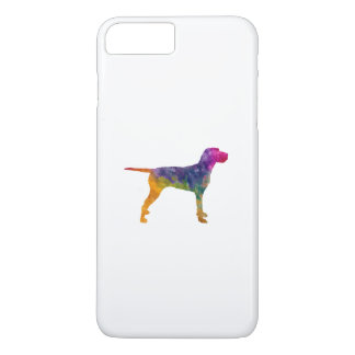 Hungarian Wirehaired Vizsla in watercolor iPhone 7 Plus Case