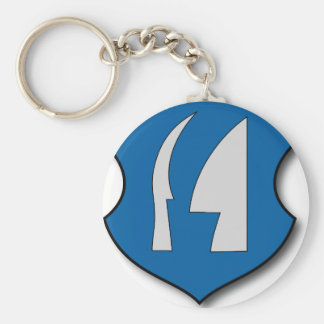 Hungary #7 keychain