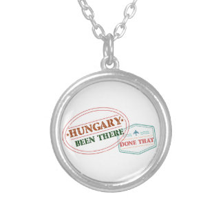 Hungary Been There Done That Silver Plated Necklace