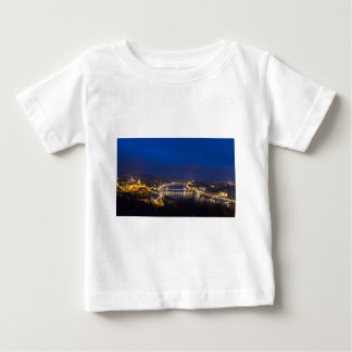 Hungary Budapest at night panorama Baby T-Shirt