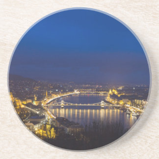 Hungary Budapest at night panorama Coaster