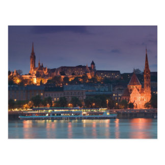 HUNGARY, Budapest: Castle Hill, Calvinist Church Postcard