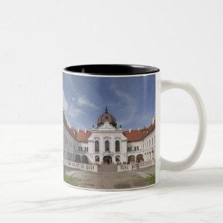 Hungary, Budapest, Godollo: Royal Mansion, Home Two-Tone Coffee Mug