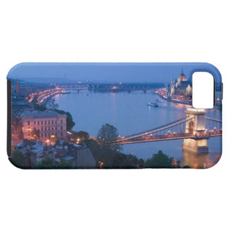 HUNGARY, Budapest: Szechenyi (Chain) Bridge, 2 Case For The iPhone 5