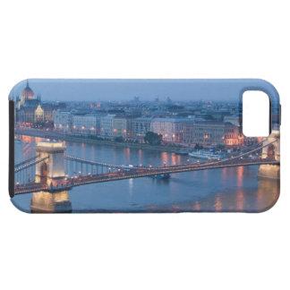 HUNGARY, Budapest: Szechenyi (Chain) Bridge, 3 iPhone 5 Cases