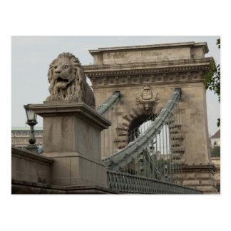 Hungary, capital city of Budapest. Historic 2 Postcard