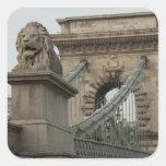Hungary, capital city of Budapest. Historic 2 Sticker