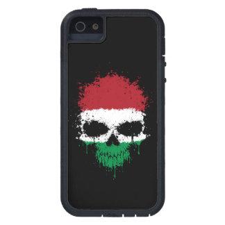 Hungary Dripping Splatter Skull iPhone 5 Cover