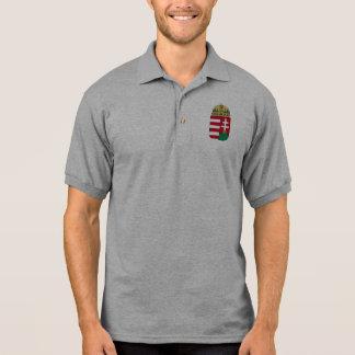 hungary emblem polo shirt