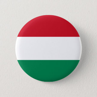 Hungary Flag Button