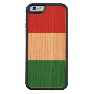 Hungary Flag Carved Cherry iPhone 6 Bumper Case