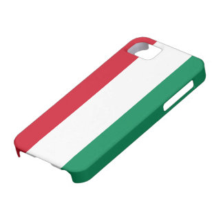 Hungary Flag Case For The iPhone 5