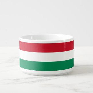 Hungary Flag Chili Bowl