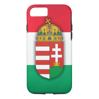 Hungary Flag & COA iPhone 8/7 Case