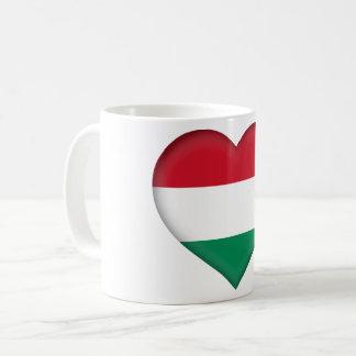 Hungary Flag Coffee Mug