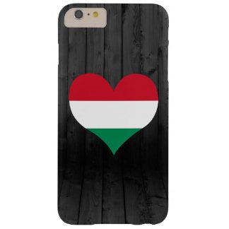 Hungary flag colored barely there iPhone 6 plus case