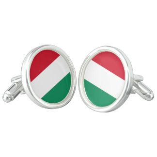 Hungary Flag Cufflinks