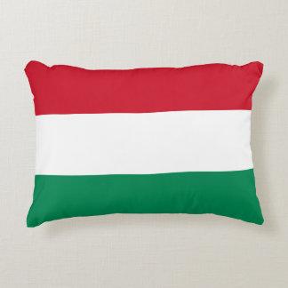Hungary Flag Decorative Pillow