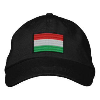 Hungary Flag Embroidered Hat