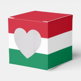 Hungary Flag Favor Box