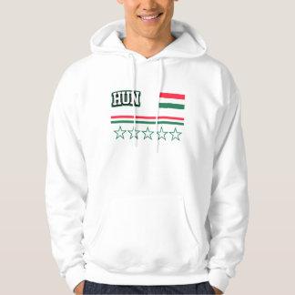 Hungary Flag Hoodie