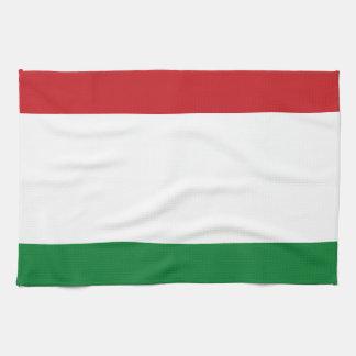 Hungary flag kitchen towels