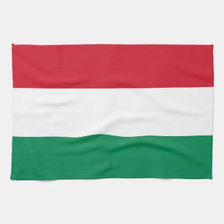Hungary Flag Kitchen Towels