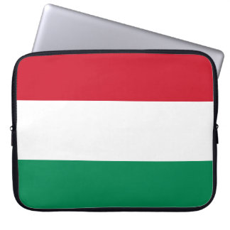 Hungary Flag Laptop Sleeve