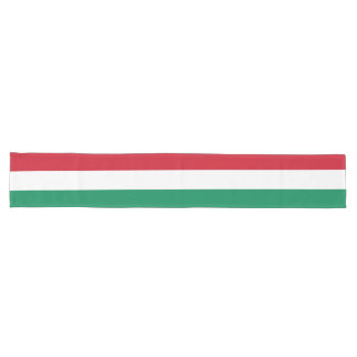 Hungary Flag Long Table Runner