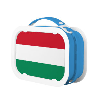 Hungary Flag Lunch Box