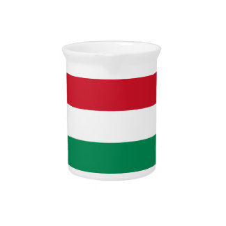 Hungary Flag Pitcher
