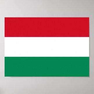 Hungary Flag Poster