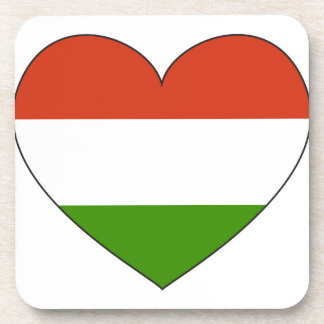 Hungary Flag Simple Coaster