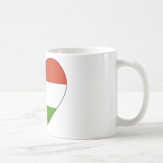 Hungary Flag Simple Coffee Mug