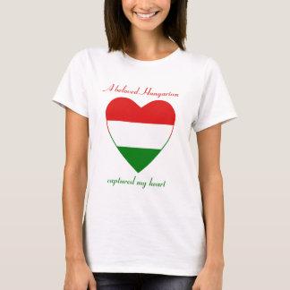 Hungary Flag Sweetheart T-Shirt