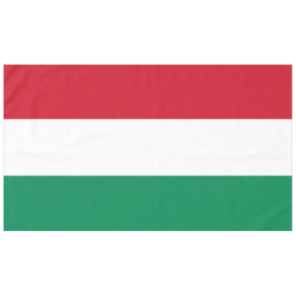 Hungary Flag Tablecloth