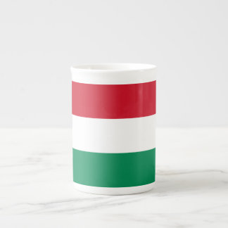 Hungary Flag Tea Cup