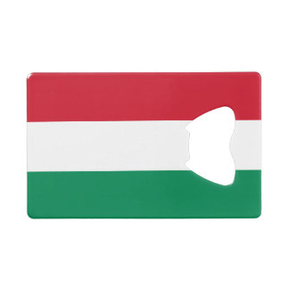 Hungary Flag Wallet Bottle Opener