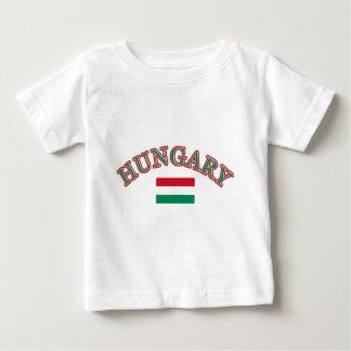 Hungary football design baby T-Shirt