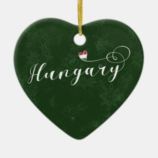 Hungary Heart, Christmas Tree Ornament
